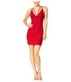 City Studio Womens Strappy Bodycon Dress