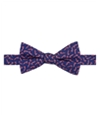 Tommy Hilfiger Mens Candy Cane Pre-Tied Self-Tied Bow Tie