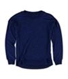 Aeropostale Girls Marled HI-Lo Pullover Sweater 412 XS