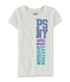 Aeropostale Girls Sequined PSNY Embellished T-Shirt 102 XS