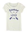 Aeropostale Girls Love Psny Graphic T-Shirt