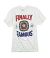 Ecko Unltd. Mens Big 88 Ring Finally Famous S Graphic T-Shirt