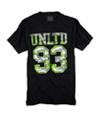 Ecko Unltd. Mens Fine Tuned 93 Infinity Camo Graphic T-Shirt black XS