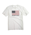 Ecko Unltd. Mens White And Brew Graphic T-Shirt