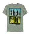 Ecko Unltd. Mens Neon City Graphic T-Shirt