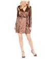 Leyden Womens Naomi Mini Wrap Dress