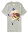 Aeropostale Boys Football Hamburgar Graphic T-Shirt