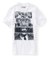 Aeropostale Boys Stacked Faces Graphic T-Shirt