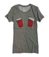 Ecko Unltd. Womens Cup Graphic T-Shirt