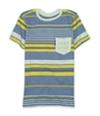 Ecko Unltd. Mens Neptune Crew Neck Striped Graphic T-Shirt