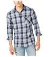 Quiksilver Mens Flannel Button Up Shirt