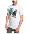 Quiksilver Mens Colorful Night Graphic T-Shirt