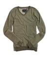 Buffalo David Bitton Mens V-neck Knit Sweater darkbeige 2XL