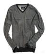 Buffalo David Bitton Mens V-neck Knit Sweater fadedblack 2XL