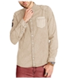 Buffalo David Bitton Mens Silvur-X Button Up Shirt