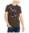 Buffalo David Bitton Mens Better On Our Own Graphic T-Shirt