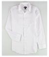 Bar Iii Mens Twill Gingham Button Up Dress Shirt