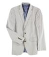 Bar Iii Mens Vintage Seersucker Two Button Blazer Jacket
