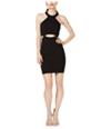 Speechless Womens Cutout Pencil Dress