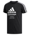 Adidas Mens International Embellished T-Shirt