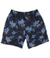 Quiksilver Mens Floral Print Swim Bottom Trunks