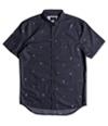 Quiksilver Mens Mini Kamakura Button Up Shirt