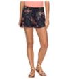 Roxy Womens Drawstring Casual Walking Shorts