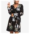 Roxy Womens Delicate Flower A-Line Dress