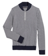 Sean John Mens Herringbone 1/2 Zip Pullover Sweater
