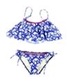 Hobie Womens Tie-Dye Side Tie 2 Piece Bandeau