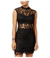 Bee Darlin Womens Lace A-Line Dress