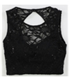 Bee Darlin Womens Lace Floral Cami Tank Top