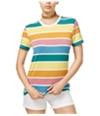 Carbon Copy Womens Striped Basic T-Shirt
