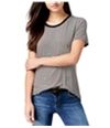Carbon Copy Womens Embroidered Embellished T-Shirt