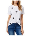 Carbon Copy Womens Sequined Embellished T-Shirt