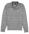 Alfani Mens Solid Quarter-Zip Pullover Sweater