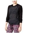 Material Girl Womens Space-Dyed Hoodie Sweatshirt
