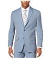 Sean John Mens Pinstripe Two Button Blazer Jacket