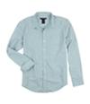 Calvin Klein Mens Thin Pinstripes Button Up Shirt