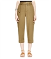 Free People Womens Belted High-Rise Casual Jogger Pants