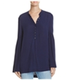 Free People Womens Easy Girl Bell Sleeve Knit Blouse