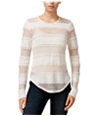 Rachel Roy Womens Striped Lace Embellished T-Shirt