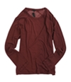 Sons of Intrigue Mens Ribbed Knit Sweater brick 2XL