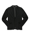 Sons Of Intrigue Mens Striped Shawl Thermal Sweater