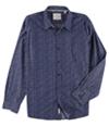 Weatherproof Mens Printed Button Up Shirt