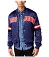 Sean John Mens Logo Bomber Jacket