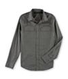 Sean John Mens Double Pocket Button Up Shirt