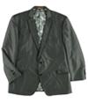 Tallia Mens Patterned Two Button Blazer Jacket