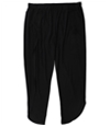 Tags Weekly Womens Solid Casual Wide Leg Pants