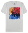 Ufc Mens Watercolor Portrait Graphic T-Shirt